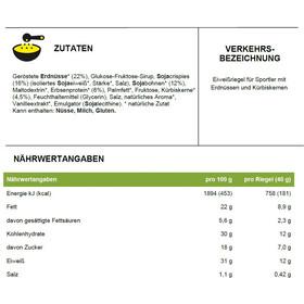 PowerBar Natural Protein Bar Box 24 x 40g Gesalzene Erdnüsse Crunch (Vegan)